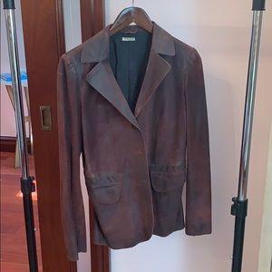 Miu Miu (Prada) leather blazer